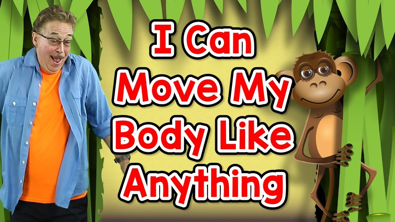 I Can Move My Body Like Anything Movement Song For Kids Jack Hartmann Youtube