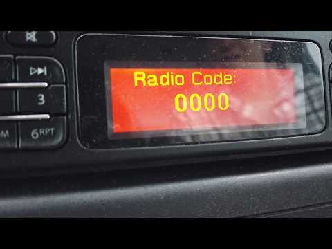 Renult Master Van - How To Remove Stereo / Find Radio Code / Enter Radio Code  For FREE