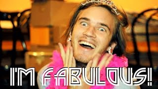 Repeat youtube video FABULOUS! (PewDiePie Song, By: Roomie) | PewDiePie