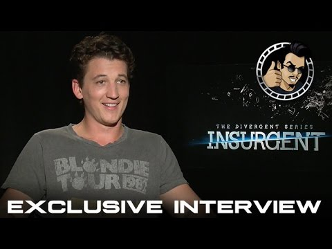 Miles Teller Exclusive Interview - Insurgent (HD) Divergent Sequel ...