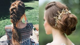 Easy Style for Long Hair | TOP 8 Hairstyles Tutorials Compilation
