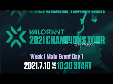 VCT Stage3 - Challengers JAPAN Week1 Main Event Day1