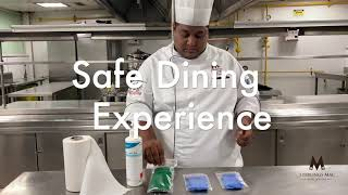 Safe Dining Experience - Sterlings Mac Hotel & Suites