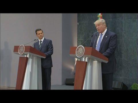 Trump Calls Illegal Immigration a Humanitarian Disaster