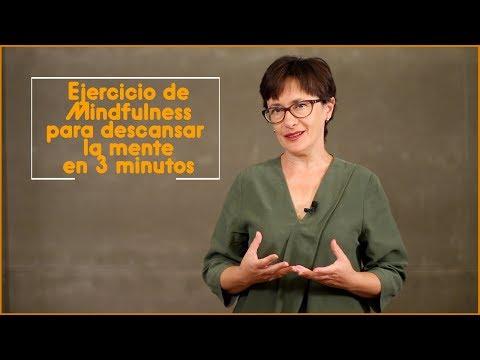 Ejercicio de mindfulness en 3 minutos