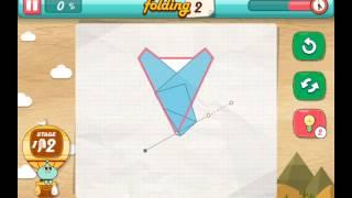 let's fold Lets Fold origami level 12  Walkthrough