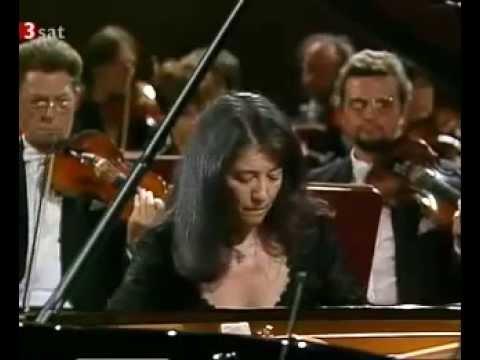 Martha Argerich performs Ravel Piano Concerto in G (Adagio assai)
