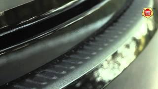 Накладка на задний бампер Hyundai Solaris 2014 н.в. russ artel.ru смотреть