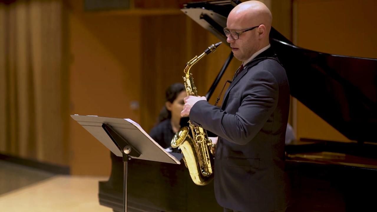 Decruck - Sonata in C# minor, IV. Nocturne et Final - Nick Zoulek, saxophone