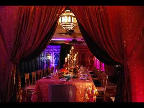 Moroccan Theme Party Decor Ideas by Alibaba Events - YouTube