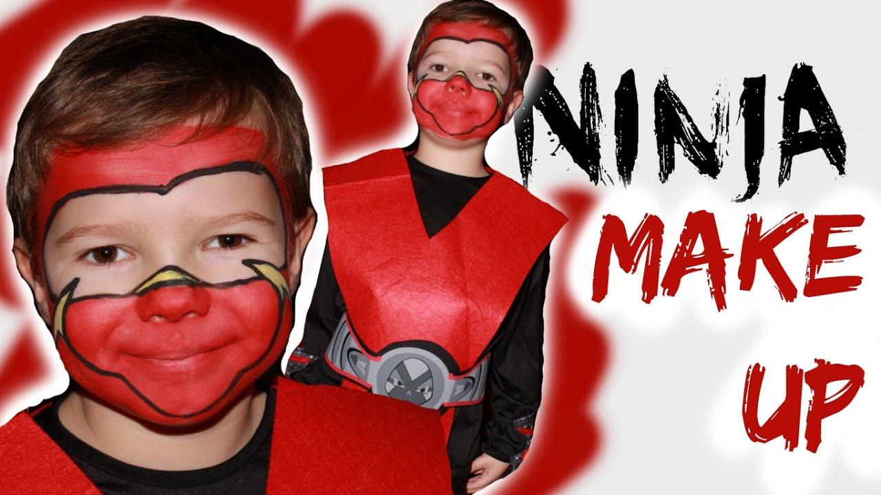 Ninja Make Up Anleitung Youtube
