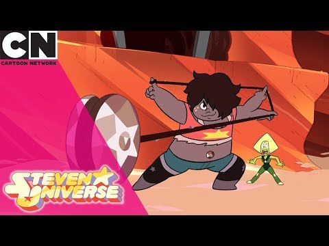 Steven Universe | Amethyst Fuses With Steven | Cartoon Network UK