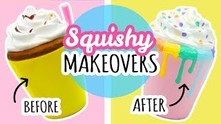 5 Squishy Makeovers | Re-Decorating Cheap Squishies thumbnail