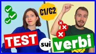 Sai CONIUGARE i Verbi Italiani? TEST sulla Coniugazione dei VERBI in ITALIANO! ✏️