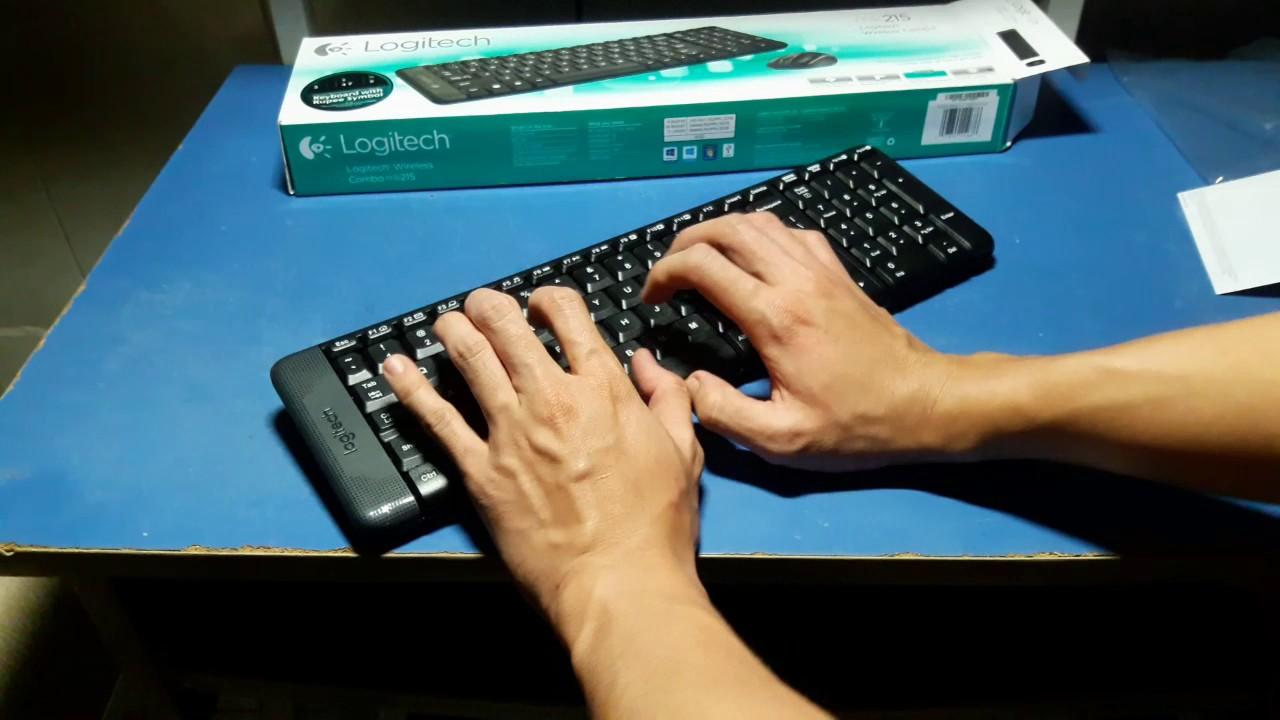 đập hộp   bộ bàn phím và chuột giá rẻ nhưng ra vẽ phết   logitech MK215