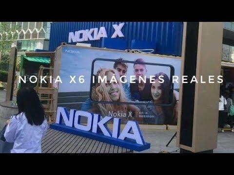 Nokia X6 Filtrado al Completo En Imagenes Reales - Notch Potencia y Un precio Increible