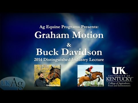 An Interview with Graham Motion and Buck Davidson