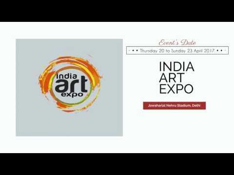 Delhi,India Art Expo 2017,Thurs 20th   Sun 23rd Apr