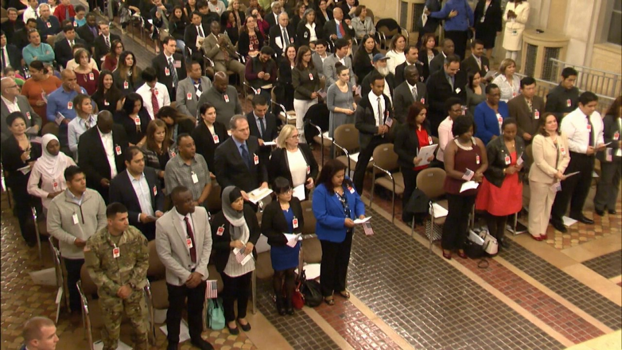 How long after citizenship interview is oath ceremony chicago