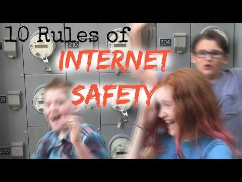 Ten Rules of Internet Safety - Nerdies