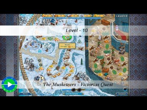 New Bridge Games - The Musketeers: Victorias Quest Walkthrough - Level 29