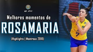 Melhores Momentos de Rosamaria | Volleyball Highlights | MVM 2018