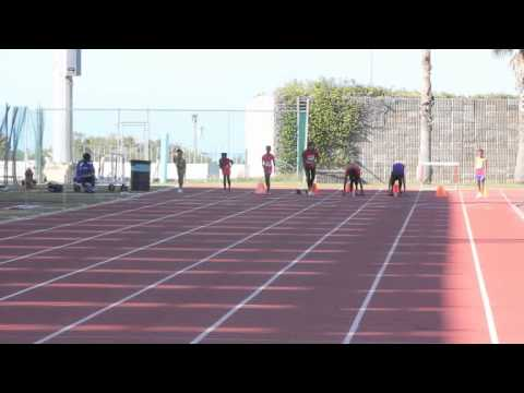 Hurdles & 100 metre Track & Field Onion Series- Pacers Bermuda January 21 2012