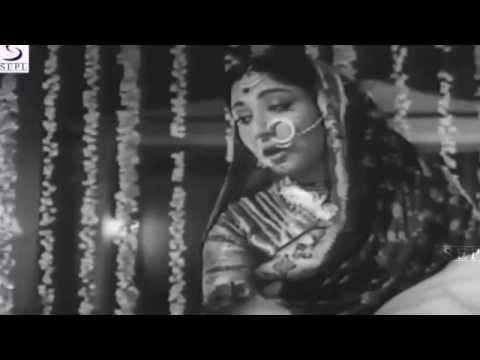 Main Jaagoon Saari Rain - Lata Mangeshkar - BAHURANI - Guru Dutt,Mala Sinha