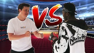 BOXING KSI At The Sidemen House! [Vlog]