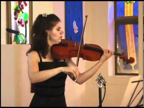 MADALINA NICOLESCU - VIOLA, performing Massenet, Meditation from THAIS for viola and piano