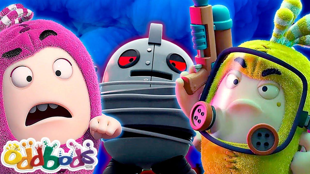 Oddbods   The Oddbods vs. The Machines 2   Cartoon For Kids