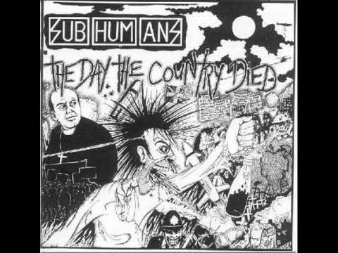 Subhumans - Black and White