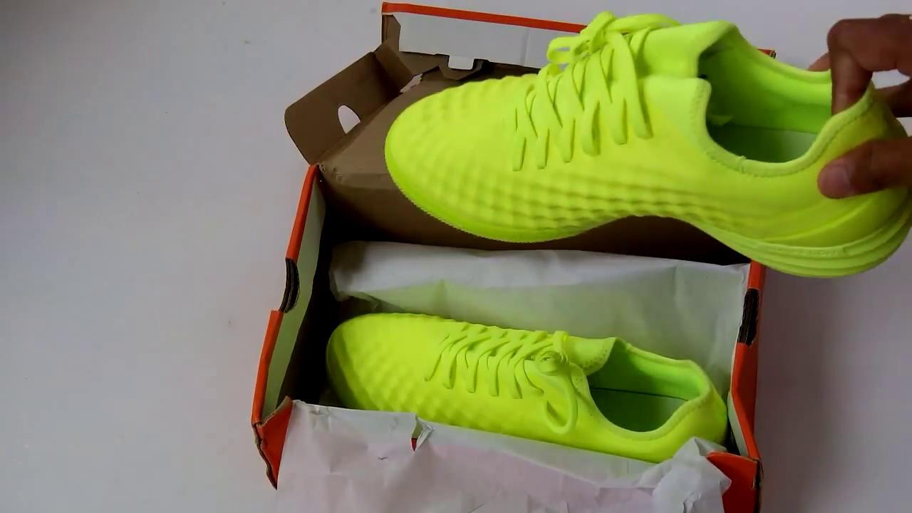 Sepatu Futsal Nike Magistax Finale II IC Volt 84444 777 Original - YouTube 8fc8e4016f218