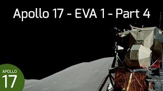 Apollo 17 EVA 1 - Return to LM, SEP Deployment, & EVA 1 Close-out