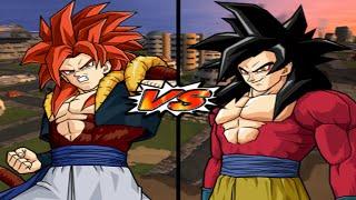 [TAS] DBZ BT3 Gogeta SSJ4 Vs. Goku (GT) SSJ4 (Enhanced Red Potara) (Request Match)