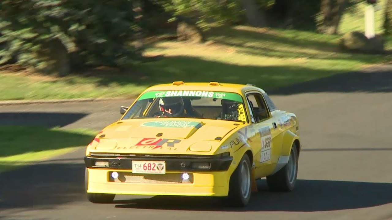 Targa Tasmania 2014 - Triumph TR7 V8 PURE SOUND - YouTube