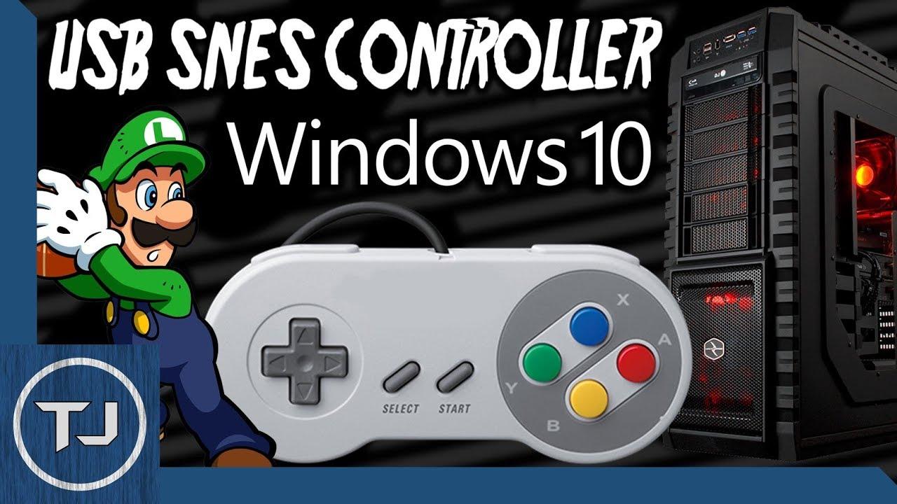 gamepad configuration windows 10