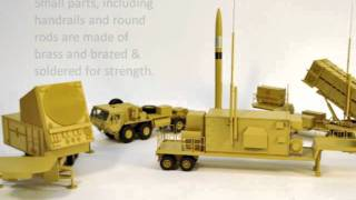 Patriot Missile Pac 3 MIM 104 Scale Model