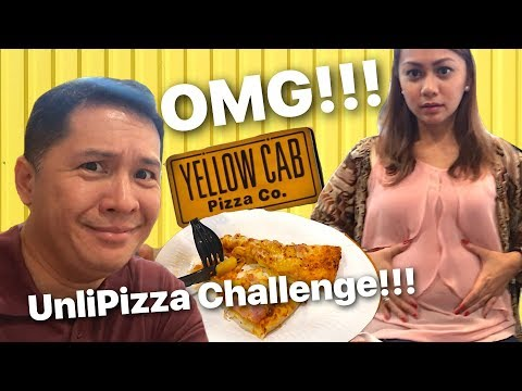 OMG! Unlipizza at Yellow Cab Pizza!!! Let's go!