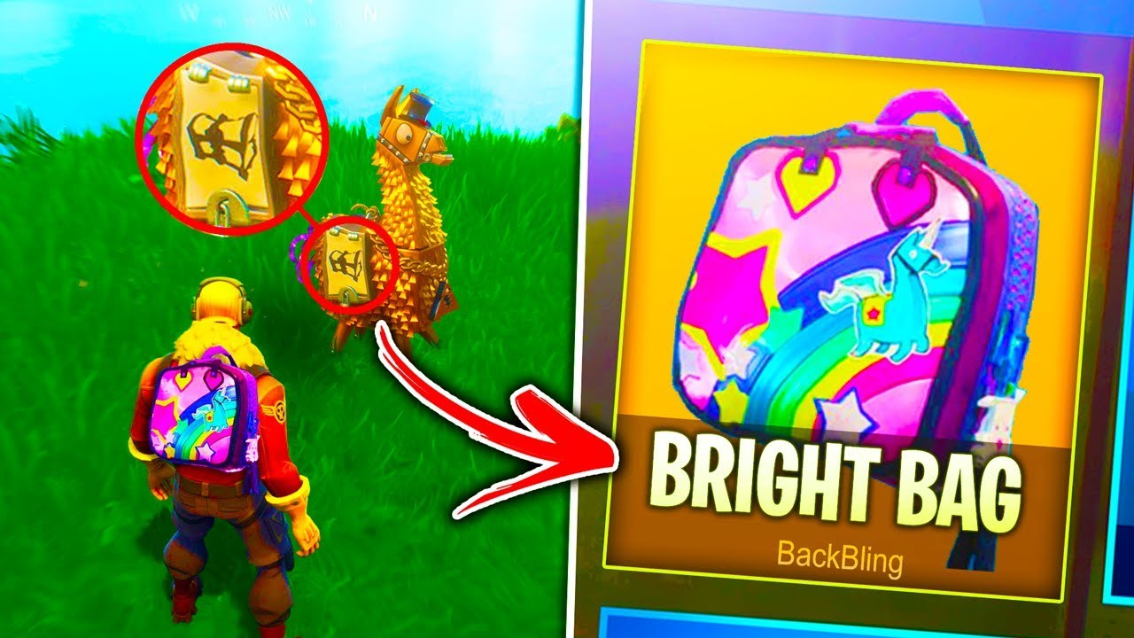 How To Unlock New Bright Bag Rare In Fortnite Battle Royale