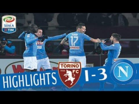 Torino - Napoli 1-3 - Highlights - Giornata 17 - Serie A TIM 2017/18