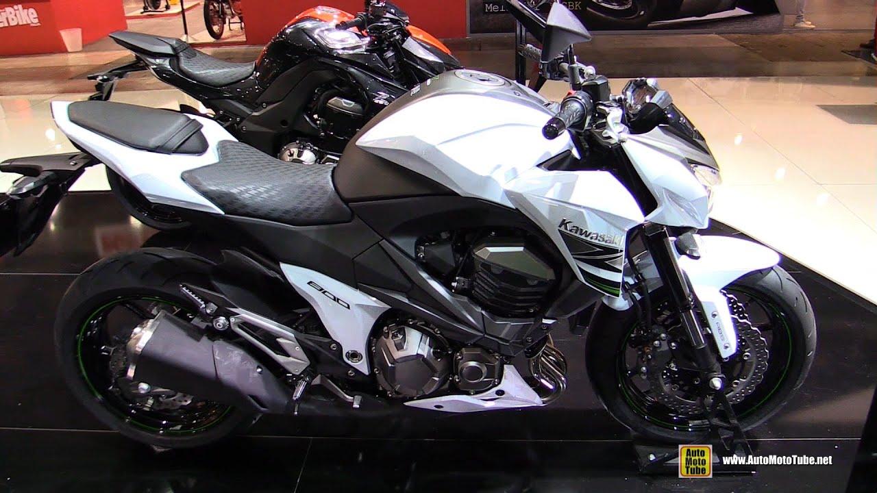 2015 Kawasaki Z800 - Walkaround - 2014 EICMA Milan Motorcycle ...