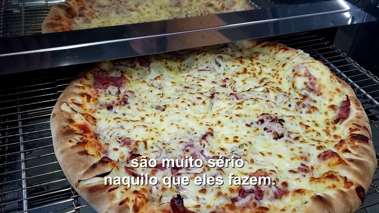 Forno de Esteira para Pizza e Esfiha.