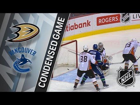 03/27/18 Condensed Game: Ducks @ Canucks