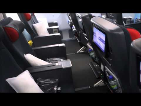 Air Canada 787-800 Economy Bulkhead Seat Walkthrough / Review