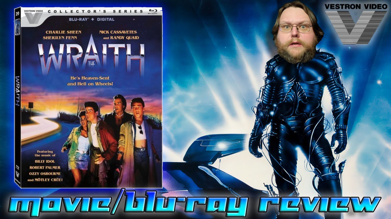 Download THE WRAITH (1986) - Movie/Blu-ray Review (Vestron Collector's Series)