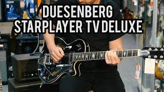 Duesenberg Starplayer TV Deluxe Black with Cranbourne Music