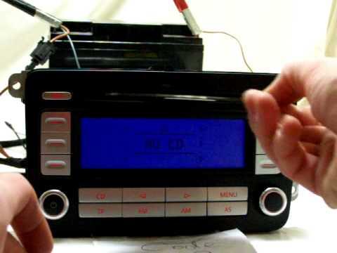 rcd300 cd error.MOV