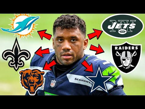 HUGE Russell Wilson Drama! | Storms Out, Gives Seahawks List Of Teams He Wants To Be Traded To
