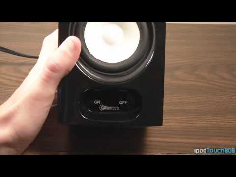 Manhattan Bluetooth Bookshelf Speaker System Review